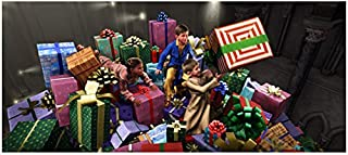 The Polar Express (2004) 8 inch x 10 inch Photograph Hero Boy, Hero Girl & Billy Among Presents kn