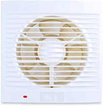 YGB Ventilator voor badkamer, stille, ventilator, plafond- en wandmontage