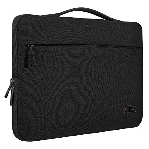 MoKo Sleeve Hülle Kompatibel mit 15.6 Inch Laptop, Schutzhülle Laptoptasche Case für MacBook Pro Retina 15.4 inch, Microsoft Surface Book 2/1 15 Inch 2018/2017, 15.6