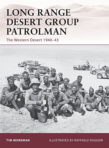 Long Range Desert Group Patrolman: The Western Desert 1940-43 (Warrior, Band 148)