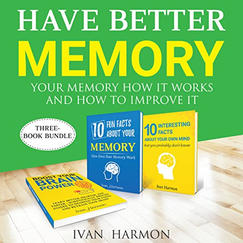 Have Better Memory audiobook cover art