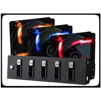 BitFenix Spectre 140mm Lüfter rot LED schwarz