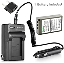Kastar 1 X BLS-5 Battery and Charger Kit for Olympus BLS5 PS-BLS5 and Olympus E-PL1 E-PL2 E-PLE15 E-PM1 E-PM2 E-M10 OM-D E-400 E-410 E-420 E-450 E-600 E-620 E-P1 E-P2 E-P3 E-PL6 E-PL5 stylus 1 Cameras