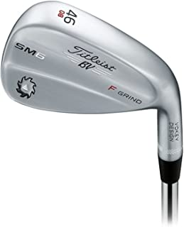 Titleist Vokey SM6 Tour Chrome Wedge Right 46 8 F Grind True Temper Dynamic Gold Wedge