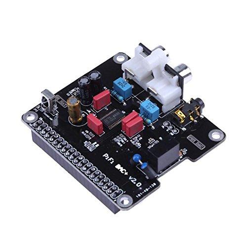 Alician Home PCM5122 HIFI DAC Audio Sound Card Module I2S 384KHz with LED Indicator for Raspberry Pi B+ for Raspberry Pi 2 Model B