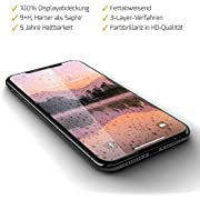 GLAZ Liquid 2.0 Flüssiger Displayschutz geeignet für iPhone X/iPhone XS Panzerglas, Schutzfolie, Full Cover, 9+H Hart, Blasenfrei, Unsichtbar, Premium Panzerglasfolie, Hüllenfreundlich, Passgenau