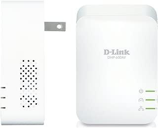 D-Link DHP-601AV PowerLine AV2 1000 Gigabit Network Extender Kit - (2) HomePlug AV2 1000 Adapters with Gigabit Ethernet Port