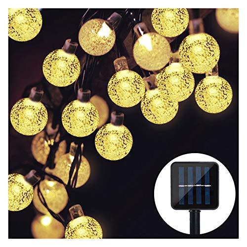 Solcell älva ljusslingor, Mr. Twinklelight vattentäta älva lampor dekorativ utomhus ljusslinga 30led Warm White