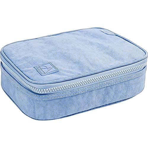 Estojo Box, Tilibra, Academie, Azul Claro