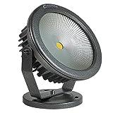 グッドグッズ(GOODGOODS) COB LED 投光器 電球色 30W 300W相当 看板灯 作業灯 屋外 防水 屋外照明 景観照明 駐車場灯 CO30電球色