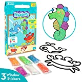 Imagimake Fleximos Aqua World DIY Window Art – Dotz Multi-Colour Air Dry Clay