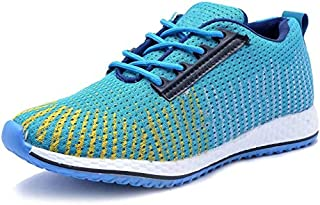 AADI Men's Blue Mesh Sports Shoes