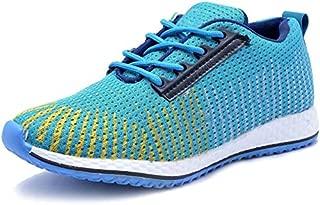 AADI Men's Blue Mesh Sports Shoes