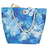 30 bolsas pequeñas portátiles para dulces para decoración de regalo, eventos, fiestas, regalos de boda, cinta dorada azul + cuerda