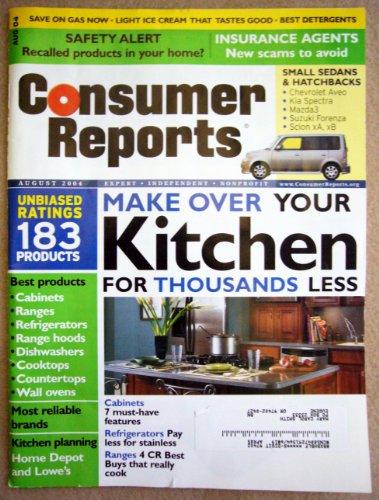 Consumer Reports Magazine, August 2004 (Vol. 69, No. 8)