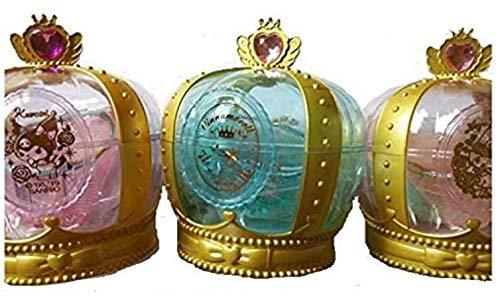 サンリオ えらんでつめるおしゃれセット プリンセス (王冠ケース ・コーム・ヘアゴムセット ・ミラー ) (ランダム)※種類は選べません