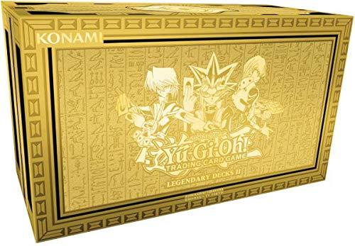 A 1 LEER Yugioh Legendary Decks 2 Kiste | Spielzeug-Behälter | Kinder-Schachtel mit Deckel | Kinderzimmer/Schreibtisch | Sammel-Karten | Aufbewahrung