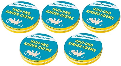 Kaufmanns Kinder Creme, 75ml, 5er Pack (5 x 75ml)