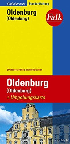 Falk Stadtplan Extra Standardfaltung Oldenburg (Oldenburg)