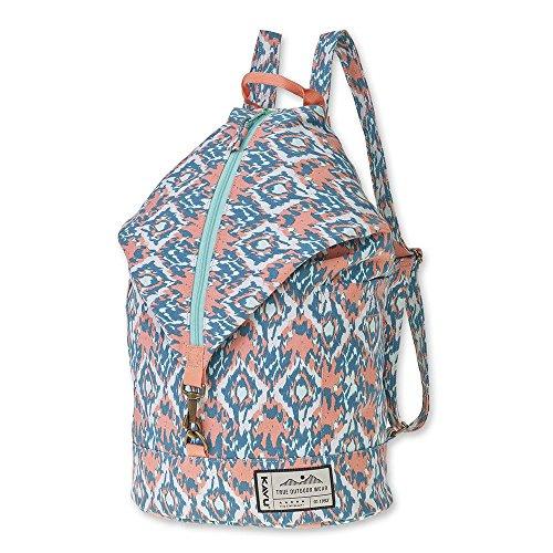 KAVU Free Range Backpack Bucket Style Bag - Beach Paint