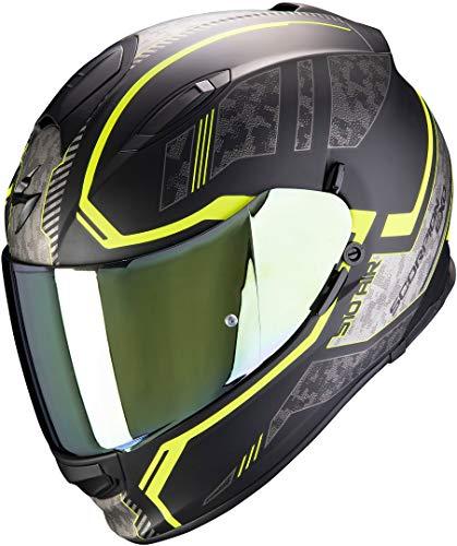 Scorpion Motorradhelm EXO-510 AIR Occulta Matt Black-Neon Yellow, Schwarz/Gelb, L