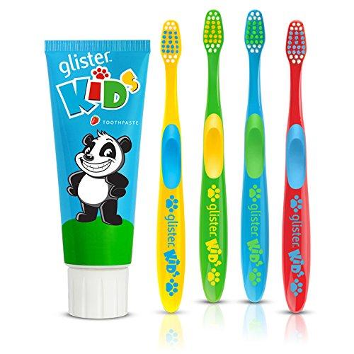 Glister Kinder Kinder Zahnpasta und Zahnbürste Set
