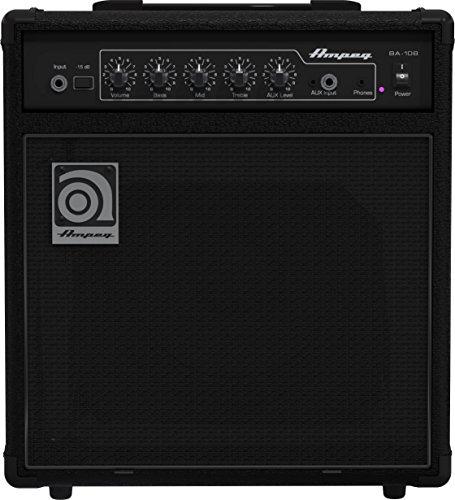 Ampeg BA-108v2 20-watt Bass Combo Amplifier, Black