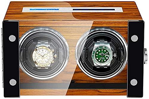 PLMOKN Reloj Bander Box for Automaty Watch LCD Pantalla táctil de Madera Piano Pintura Exterior Exterior Motor INTERPORNADO LED COLECCIÓN DE LUZ / 2 + 0 (Color : 2+0)
