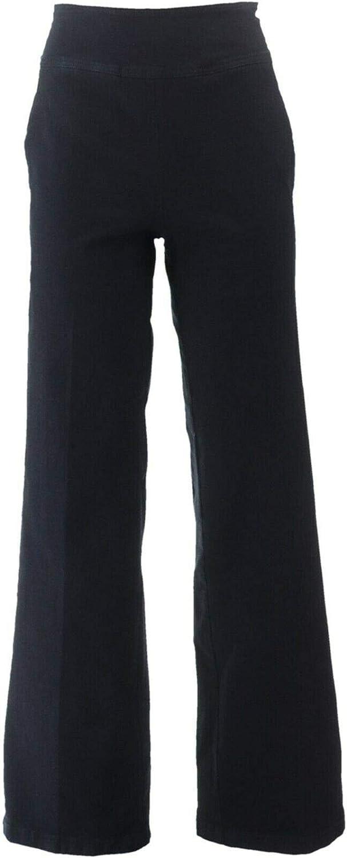 Gili High Waisted Wide Leg Jeans Black 26W New A310175
