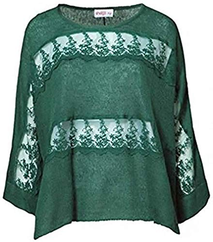 Sheego -  Maglione - Donna Verde 46