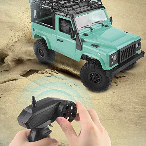 Pbzydu Ferngesteuertes Auto, 2.4G ferngesteuertes Geländewagen RC Toy, Kinder-Elektrofahrzeuge Ferngesteuerte Lastwagen für Erwachsene Kinder Mädchen Jungen(Metallic Green)