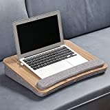Frühstückstablett, Laptop Kissentablett, Tragbar Laptoptisch, Laptopkissen, Laptop Unterlage, Bett Tisch Für Laptop, Robuster Praktischer Schreibtisch In Modernem & Minimalistischem