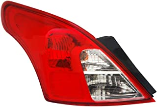 TYC 11-6402-00 Nissan Versa Left Replacement Tail Lamp