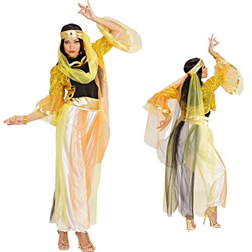 NET TOYS Kostüm Bauchtänzerin Haremsdame Harem Tänzerin Orient orientalische Kostüme Fasching Karneval M 38/40