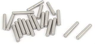 uxcell a15091700ux0099 304 Stainless Steel Dowel Pins Fastener Elements 4mmx25mm Stainless Steel (Pack of 20)