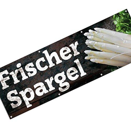 Spannbanner Banner frischer Spargel