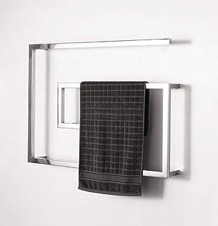 LYzpf Diseñador Baño Radiador Toallero Electrico Temperatura Constante Acero Inoxidable Calefactable Calefactor Calefaccion Casa Tendedero