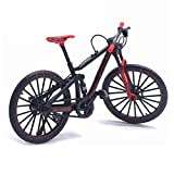 Finger Mountain Bike, 1:10 Escala Modelo de Bicicleta de Metal Ciclismo Diecast Toy Desk Craft Collection
