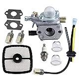 Fauge Carburador para Zama C1U-K51 Echo HC-1500 HC-1600 HC-1800 HC-2000 HC-2400 HC-2410