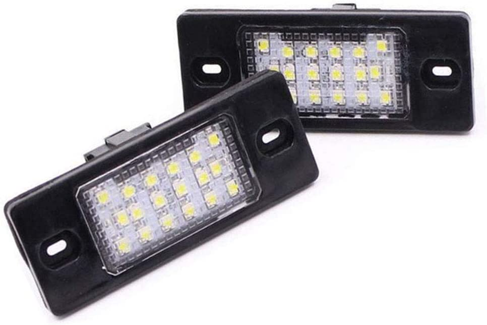 BOOMBOOST Same day shipping 2pcs License Plate Light for Discount mail order Cayenne 955 Porsche lamp