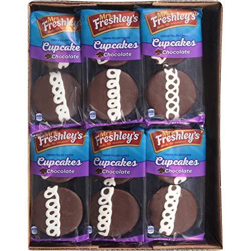 Mrs. Freshley's Chocolate Cupcakes - 12/2 packs
