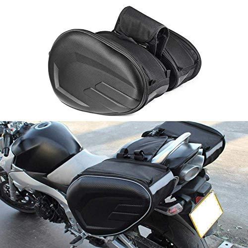 CSPone Bolsa de Sillín Equipaje para Motocicleta Impermeable Multifuncional Universal Asiento Trasero Herramienta de Viaje Equipaje de la Cola