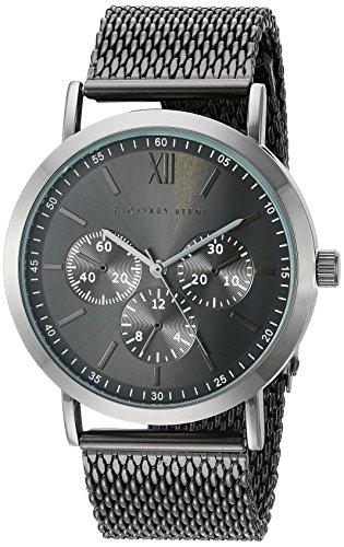 Relógio masculino Geoffrey Beene GB8048GU com mostrador analógico, quartzo japonês, cinza