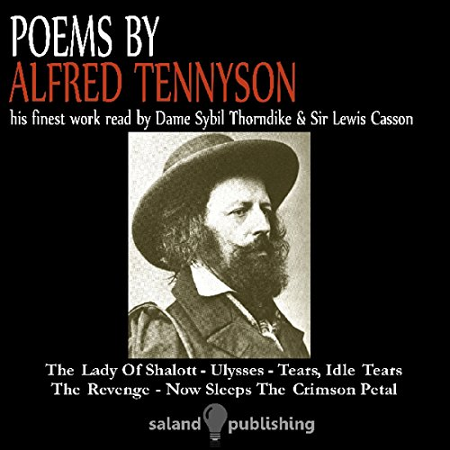 Poems By Tennyson audiobook cover art