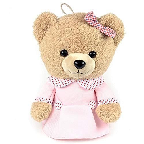 INGGI - Exclusieve Teddy Golf-Headcover voor Driver - Sarah in mooie roze jurk