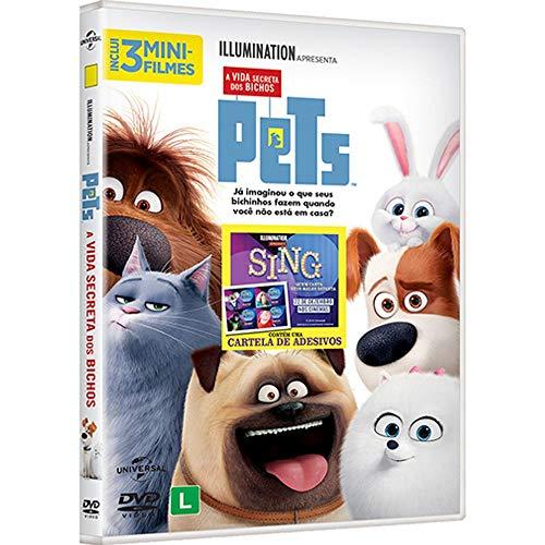 DVD - Pets - A Vida Secreta dos Bichos