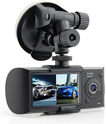 Generic HD Car DVR Dual Camera Lens Dash Cam Night Vision GPS Logger G Sensor Time Stamp product image