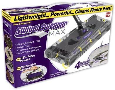 Ontel Swivel Sweeper 2021 Max supreme Quantity 1 Cordless