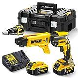 <span class='highlight'>DEWALT</span> DCF620P2K-GB XR Brushless 2 Kg SDS-Plus Hammer (2 x 5 Ah), 18 V, Yellow/Black