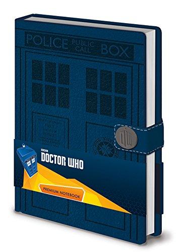 empireposter Doctor Who - Tardis - Offizielles Premium Lizenz-Notizbuch im handlichen A5 Format - Größe 15x21cm